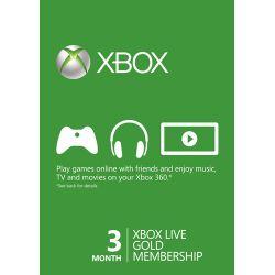 XBOX Live Gold Membership 3...