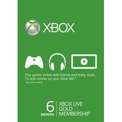 XBOX Live Gold Membership 6...