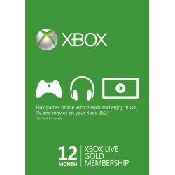 XBOX Live Gold Membership...