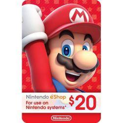 Nintendo Switch Card $20...
