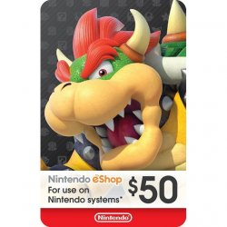 Nintendo Switch Card $50...