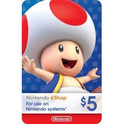 Nintendo Switch Card $5...