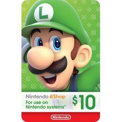Nintendo Switch Card $10...