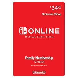 Nintendo Switch Online...